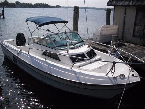 boat t top weight 1988 aquasport walkaround cuddy power boat for sale www
