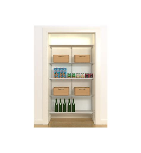 Freedomrail Closet by Freedomrail Wire Pantry Starter Closet In Pre Designed