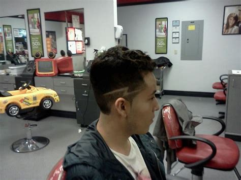 how to cut lightning bolt in hair high fade with lightning bolt design hair by joshua