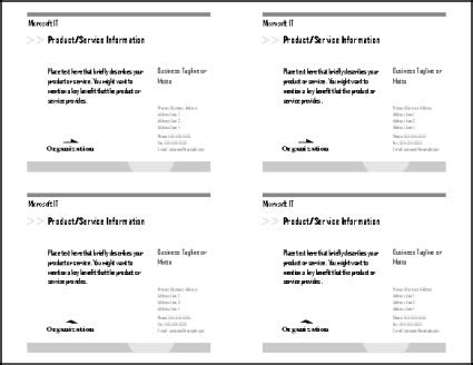 4 postcards per page template postcard template 4 per page invitation template