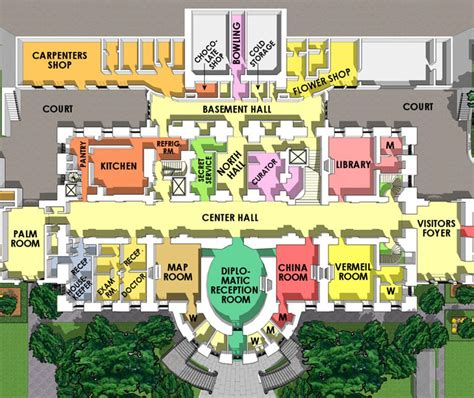 floor plan of the white house the white house maplets
