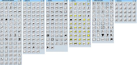 electrical schematic symbols for power point get free