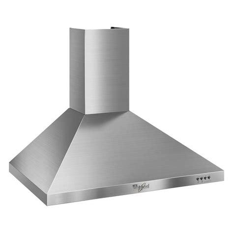 whirlpool kitchen exhaust fan stainless steel range hood 30 inch whirlpool gold 30 in