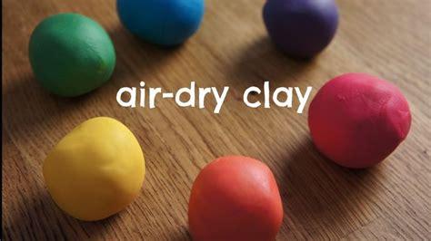 Hair Dryer Air Clay how to make rainbow air clay cold porcelain recipe