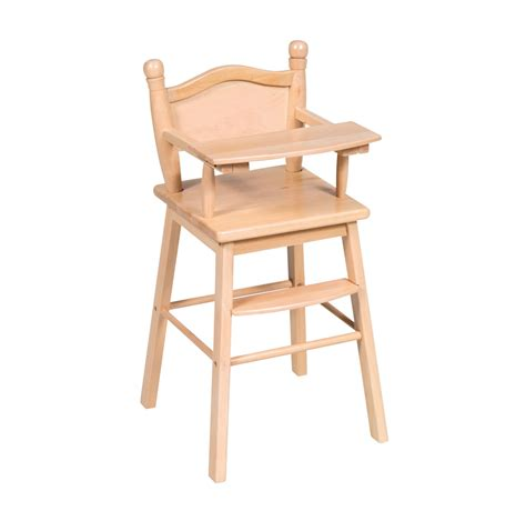 High Chairs Wooden by Wood Work Doll High Chair Wood Pdf Plans