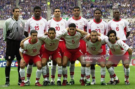 tunisia team taken before the fifa world cup finals