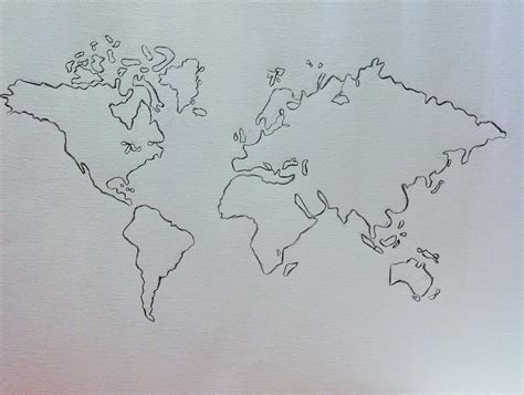 world map sketch image best photos of earth pencil sketch earth sketch drawing