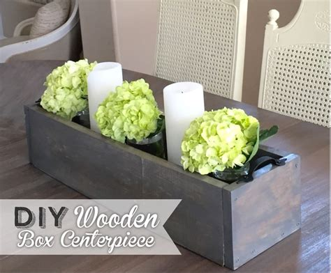 Wedding Box Centerpieces by Diy Wooden Box Centerpiece Wooden Box Centerpiece Diy