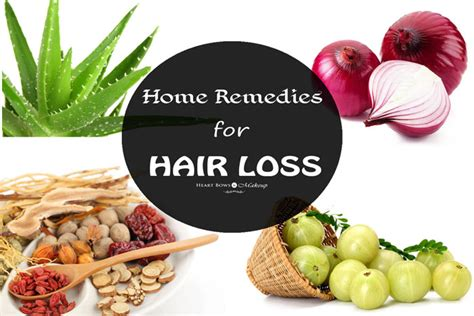 home remedies for hair loss bows makeup