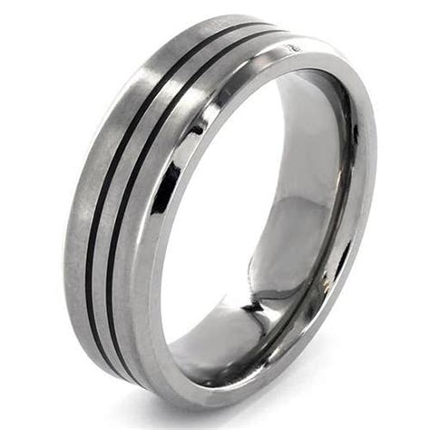 mens wedding bands palladium inofashionstyle