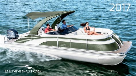 bennington pontoon boat prices 2017 bennington pontoon boats youtube