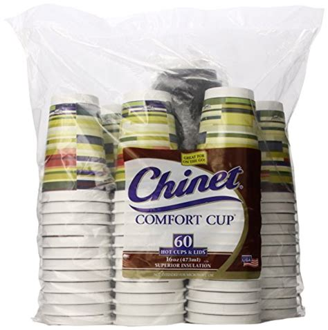 Chinet Comfort Cup by Save 18 Chinet Comfort Cup And Lids 60 Count 16 Oz