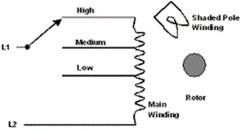 typical shaded pole motor wiring diagram typical get