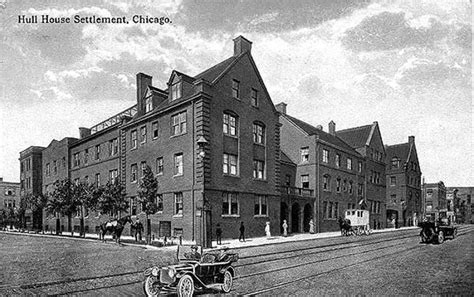 settlement houses jane addams hull house settlement 1889 a cultural beacon