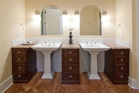convert pedestal sink to vanity 101 smart home remodeling ideas on a budget