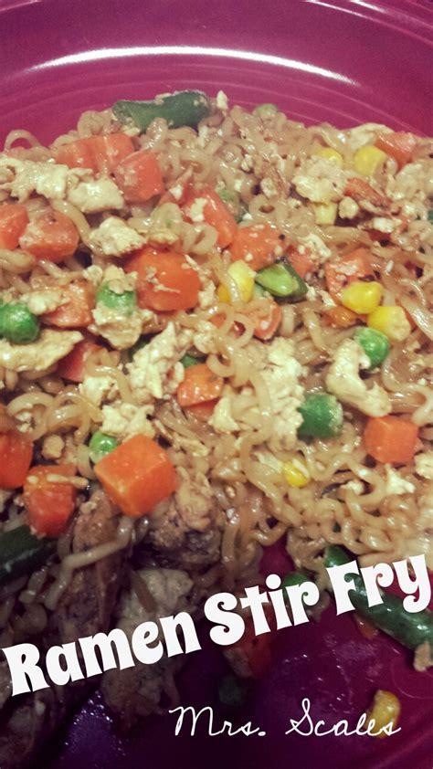 best ramen recipe mrs scales recipes n things ramen noodle stir fry