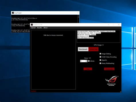 real bench asus realbench download chip