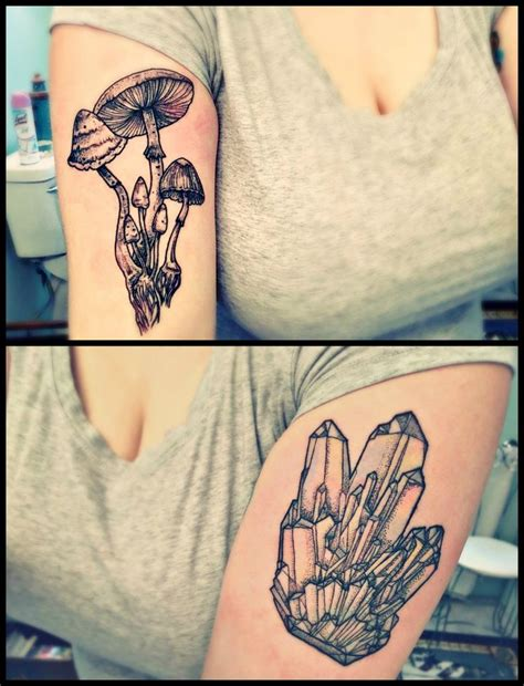 small mushroom tattoo 147 best psychedelic tattoos images on fungi