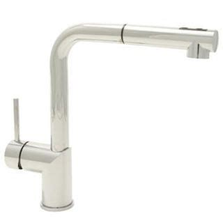 mirabelle kitchen faucets mirabelle mirxcra120cp polished chrome ravenel pullout