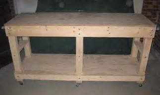 Garage work bench building amp construction diy chatroom home