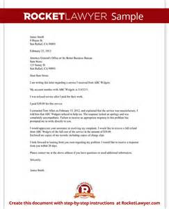 complaint letter to a bbb or attorney general
