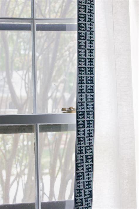 greek key trim drapes one room challenge week 3 master bedroom updates erin