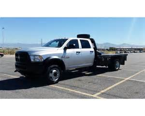 Dodge Ram 5500 For Sale 2014 Dodge Ram 5500 Flatbed Truck For Sale Salt Lake