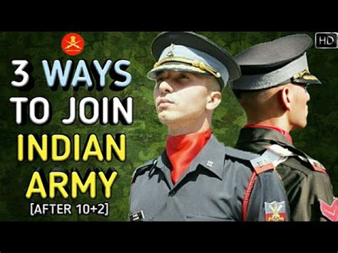 Join Militaty After Mba by 3 Ways To Join Indian Army After 10 2 As An Officer