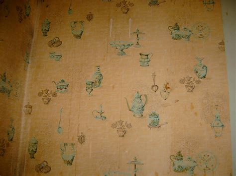 vintage country kitchen wallpaper flickr photo sharing old kitchen wallpaper revealed this is a closeup of the