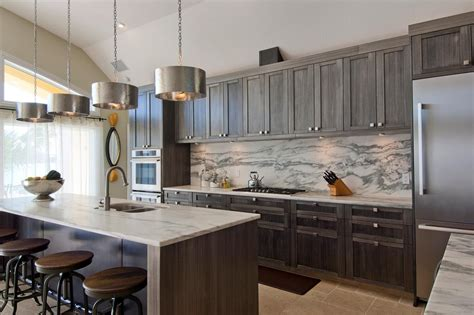 backsplash for gray cabinets photos hgtv