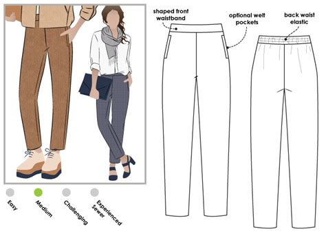 pattern review style arc stylearc talia woven pant sewing pattern