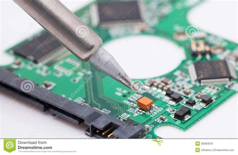 Repair Harddisk repair harddisk drive pcb royalty free stock images