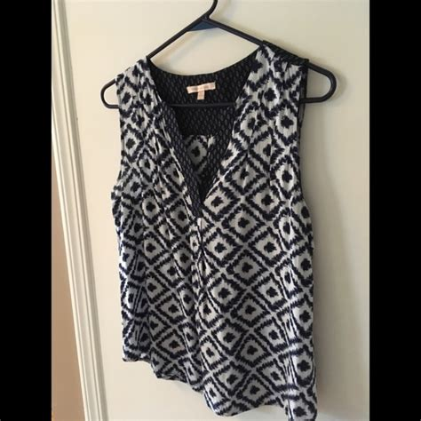 Louis Blouse Ikat skies are blue tops skies are blue ikat sleeveless