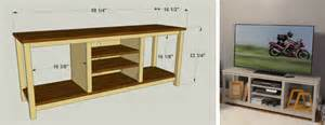 Simple Wood Tv Table Design Easy To Build Tv Stand Kreg Tool Company