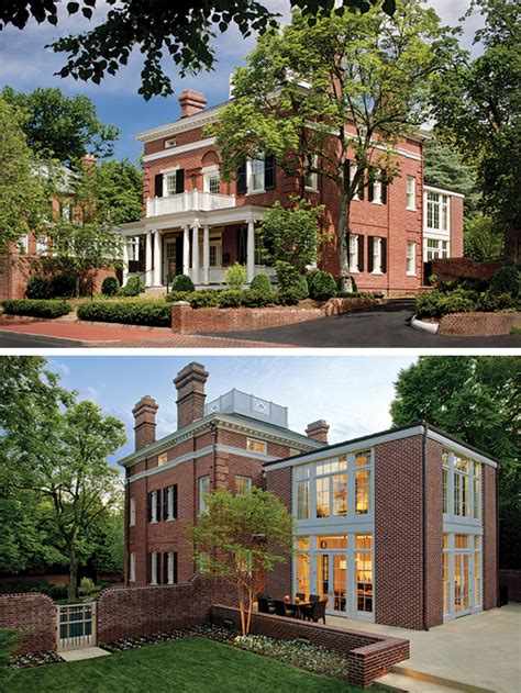brick colonial house preservation brief 14 new exterior additions to historic