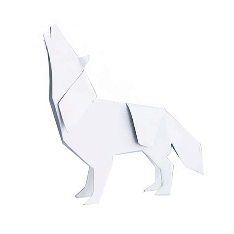 how to make a origami wolf origami wolf