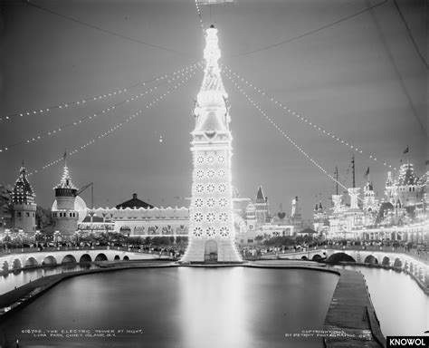 coney island nights of lights 25 historical pictures of luna park coney island s land
