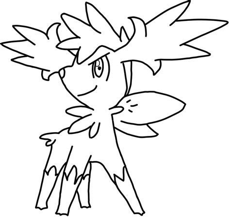 pokemon coloring pages shaymin shaymin coloring pages coloring page for kids
