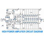 Power Amplifier With Sc Sa Electronic Circuit W