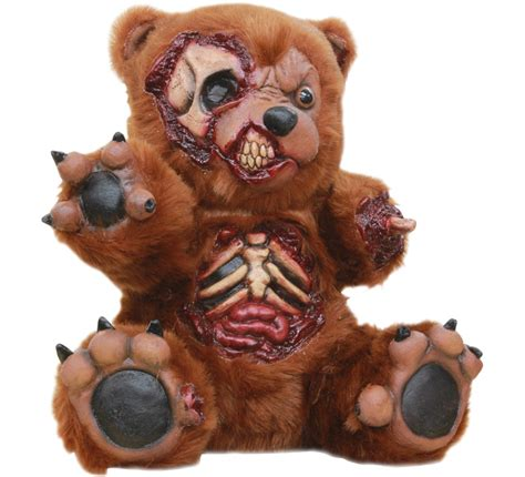 peluche ourson bad teddy pour halloween
