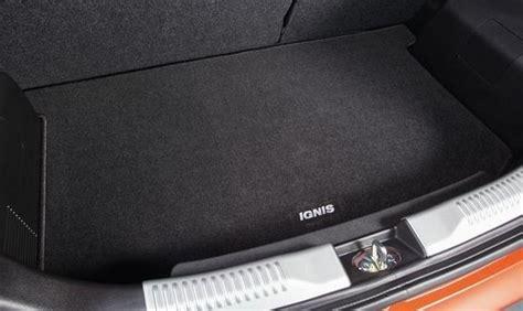 Karpet Suzuki Nex boot carpet mat new suzuki ignis