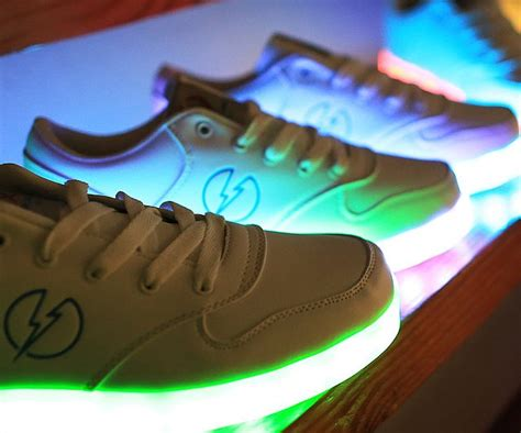 sneakers with light up soles shoes with light up soles ohgizmo