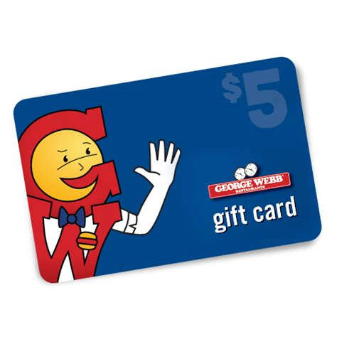 5 Gift Card - 5 gift card george webb