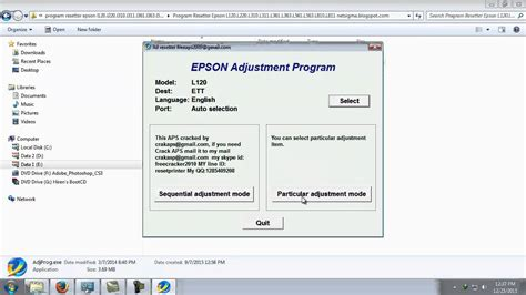resetter adjustment program epson adjustment l100 download epson l120 resetter adjustment program resetter