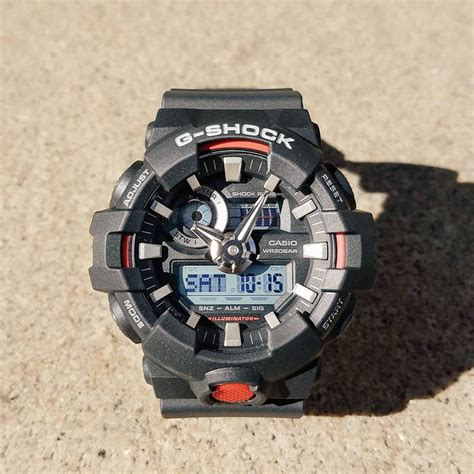 Casio G Shock Ga 700 g shock ga 700 with bold 3d and a high visibility index