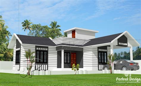 kerala home design tiles 850 sq ft single floor home kerala home design