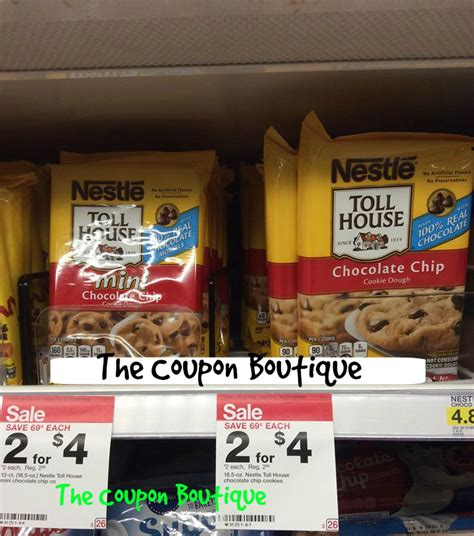 how to make toll house cookies nestle toll house cookie dough 1 00 each at target reg price 2 99