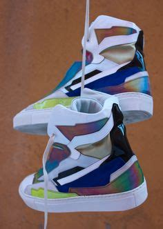 raf simons holographic space sneakers for your on graffiti nu est jr and