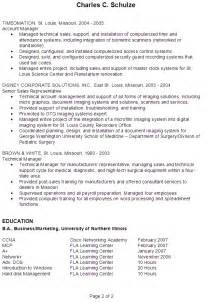 Resume Exles It by Resume Sle For An It Professional Susan Ireland Resumes