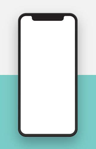 iphone blank template free realistic blank iphone x psd template titanui
